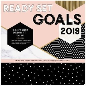 Other - Ready Set Goals 2019 Calendar NEW